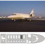 Арендовать Falcon 2000 DX в Томске